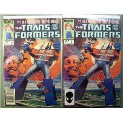 2 Marvel Transformers #1 – September 1984
