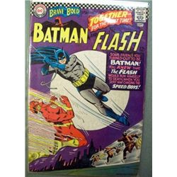 DC Brave And The Bold Batman & Flash Comic Book