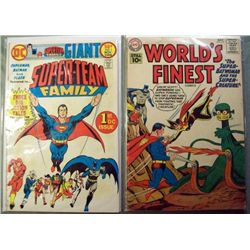 DC World's Finest & Super-Team Family Comic Books