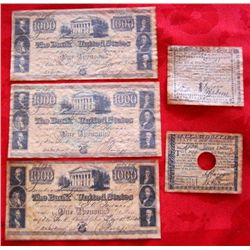 5 United States Currency Reproductions