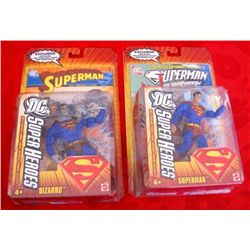 DC Superheroes Action Figures - Superman & Bizarro