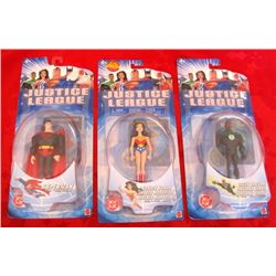 3 - New DC Justice League Action Figures