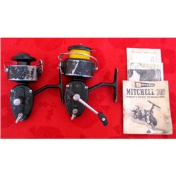 2 Garcia Mitchell 300 Fly Fishing Reels