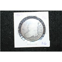 1829 Liberty Bust Half Dollar
