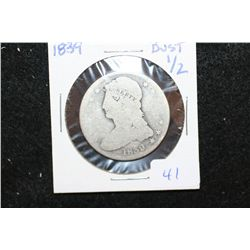 1839 Liberty Bust Half Dollar
