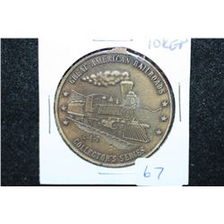 Great American Railroads Collector's Series Medal