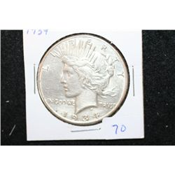 1934 Peace $1