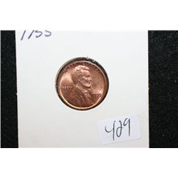 1955 Lincoln Wheat Back Penny