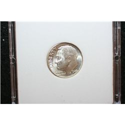 1949-D Roosevelt Dime; MCPCG Graded MS64