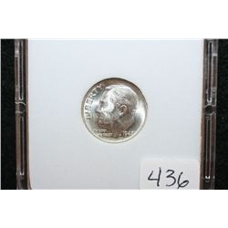 1947-S Roosevelt Dime; MCPCG Graded MS66
