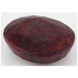 Ruby 433.50 ctw Loose Gemstone 50x40mm Oval Cut