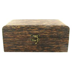 Handcrafted Sugar Palm Jewelry Box (DEC-569)