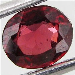 0.6ct Natural Intense Red Spinel Oval (GEM-29323B)