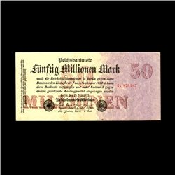 1923 Germany 50,000,000 Mark Hi Grade (CUR-06650)