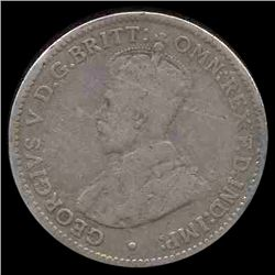 1912 Australia 3p Circulated (COI-8618)