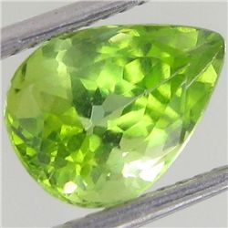 2.5ct Clean Green Peridot Pear (GEM-43466)