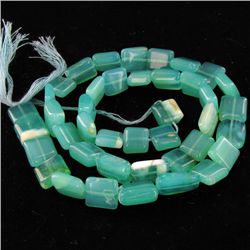 215ct Peru Blue Opal Bead Strand (JEW-4279)