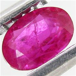 0.53ct Pink Ruby Winza Tz. Heated Only  (GEM-33567A)