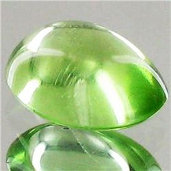 3.05ct Clean Green Peridot Cabochon  (GEM-43569)