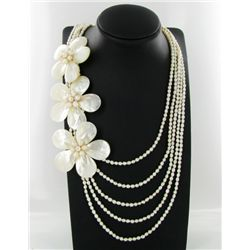 1050ct MOP & Pearl Necklace (JEW-2503)