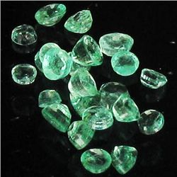 1ct Clean Colombian Emerald  Parcel (GEM-40546)