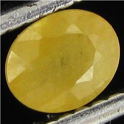 0.55ct Natural Yellow Sapphire (GEM-11674)