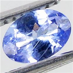 0.53ct Blue Purple Tanzanite Oval  (GEM-44200A)