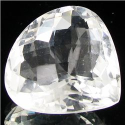 76.35ct White Quartz Pear (GEM-29572AB)