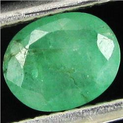 0.45ct Green Colombia Emerald Oval  (GEM-44188G)