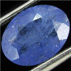 0.97ct Top Color Tanzanite Oval (GEM-38827)