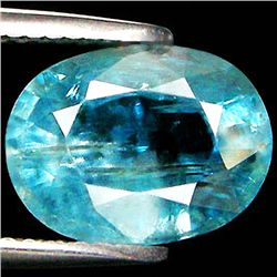 5.02ct Oval Cut Light Blue Paraiba Zircon (GEM-33532)