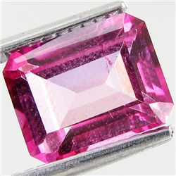 2.92ct Octagon Mystic Pink Topaz (GEM-41837)