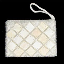 Handcrafted Mother of Pearl Evening Bag (ACT-368)