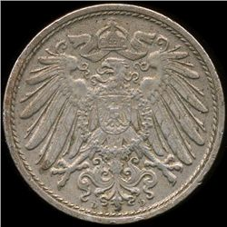 1911D Germany 10pf Unc (COI-9852)