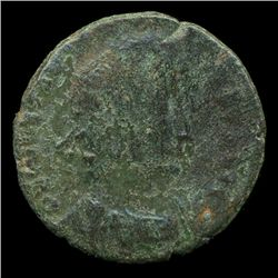 300AD Roman Bronze Coin Higher Grade (COI-9011)