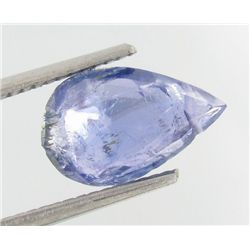 2.63ct Natural Blue Purple Tanzanite Pear  (GEM-23727)