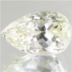 15.1ct Green Kunzite Pear (GEM-43125)