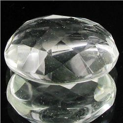 15.05ct Clear White Quartz Cut Oval (GEM-32794)