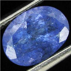 1.25ct Top Color Tanzanite Oval (GEM-38828)