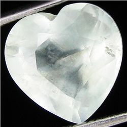 6.05ct White Aquamarine Heart (GEM-20689)