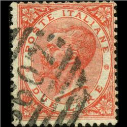 1863 RARE Italy 2L Stamp (STM-1189)