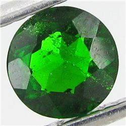 1ct Green Russia Diopside Round  (GEM-44196D)