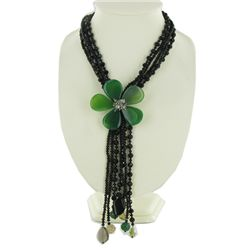 1200ct Agate & Crystal Necklace (JEW-3738)