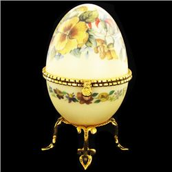 Faberge Style Goose Egg Photo Frame (CLB-920)