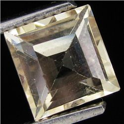 2.05ct Clear Champagne Oregon Sunstone Square (GEM-31056)