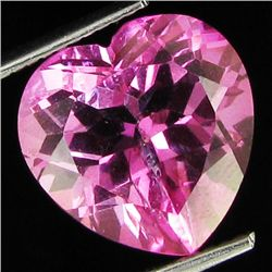 7.34ct Brazil Pink Topaz Heart Cut (GEM-26970F)