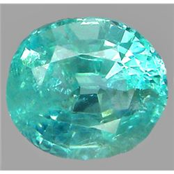 2.17ct Oval Cut Blue Green Natural Apatite (GEM-7442)