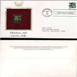 1997 US 32c First Day Cover w/ Gold Foil Replica (STM-1608)