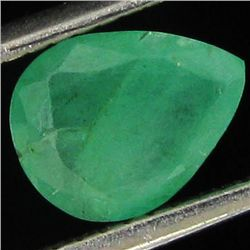 1.2ct Green Colombia Emerald Pear (GEM-44199B)