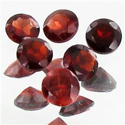 1.95ct Wine Red Garnet Round Parcel (GEM-40027)